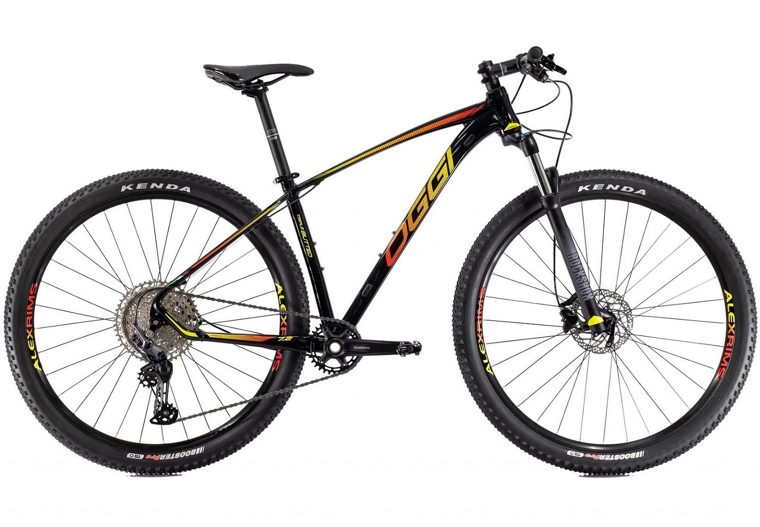 BICICLETA 29 OGGI BIG WHEEL 7.2 DEORE M5100 1X11V. PTO/VM/AMAR (2022)