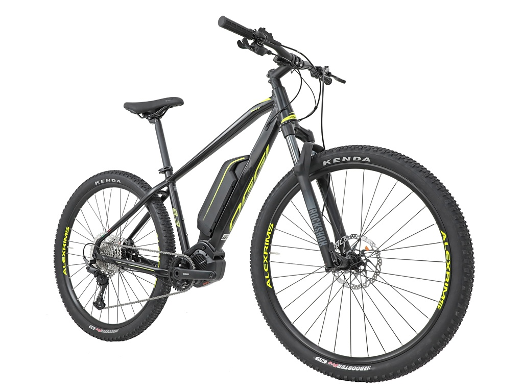 BICICLETA 29 OGGI E-BIKE BIG WHEEL 8.3 DEORE 1X11 PTO/AMARELO (2021)