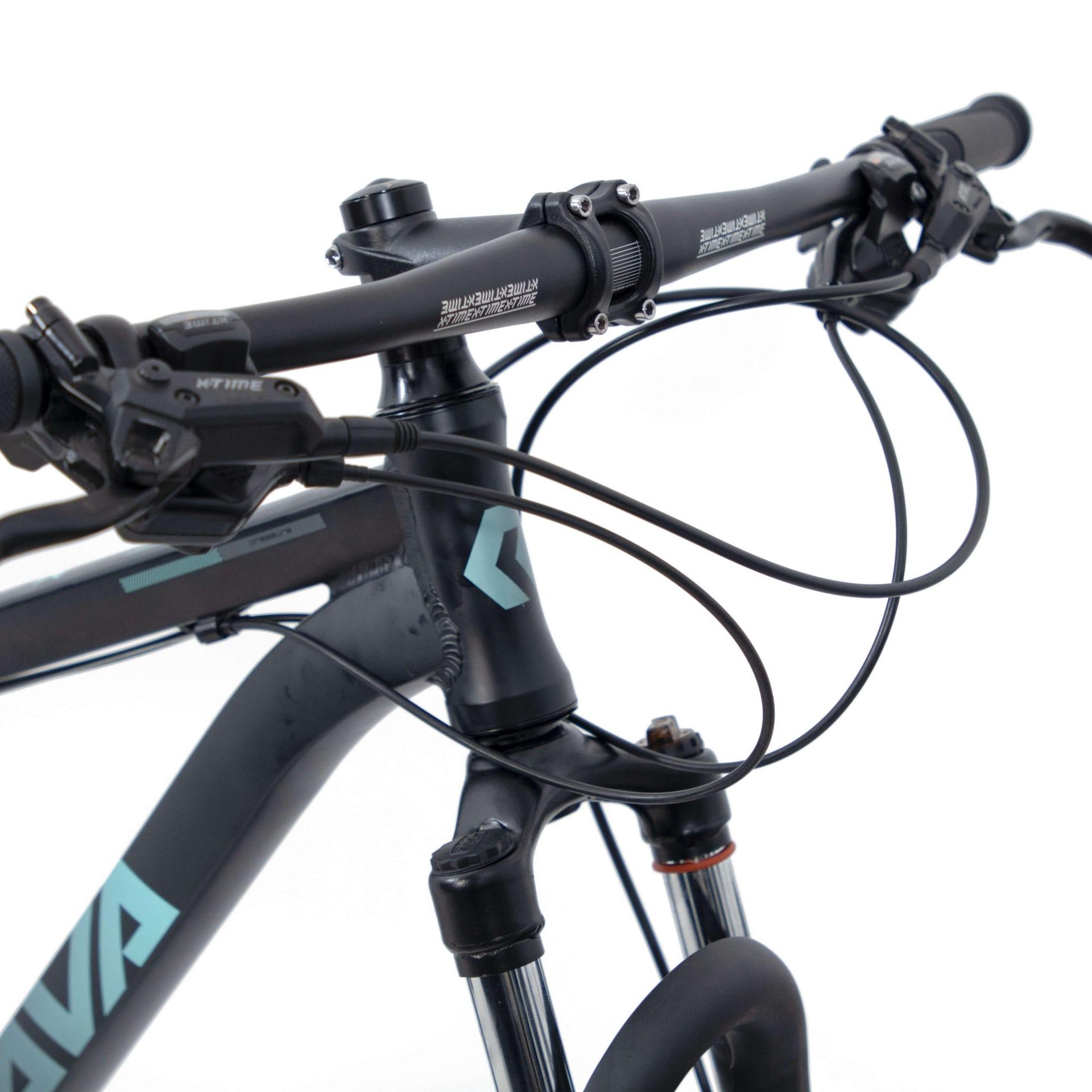 BICICLETA  29 RAVA PRESSURE X-TIME 2X10 VEL. HIDRAULICO PTO/AZUL (2021)