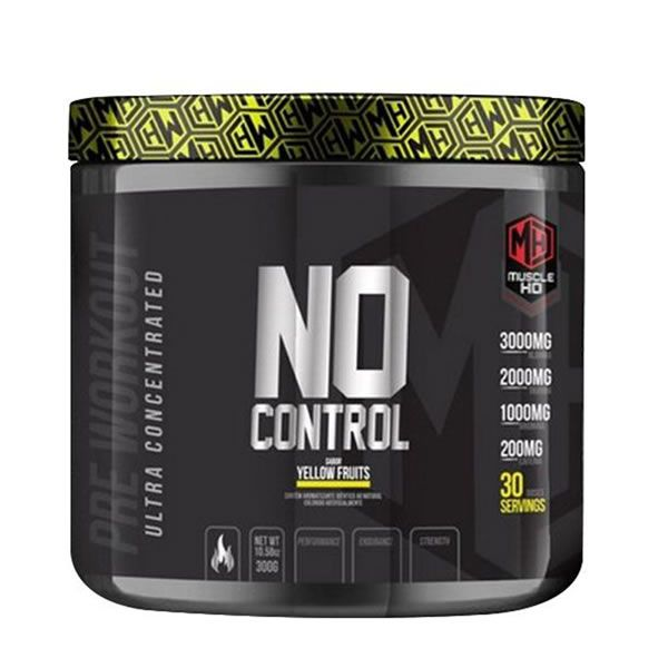 NO CONTROL PRÉ WORKOUT 300g - MUSCLE HD