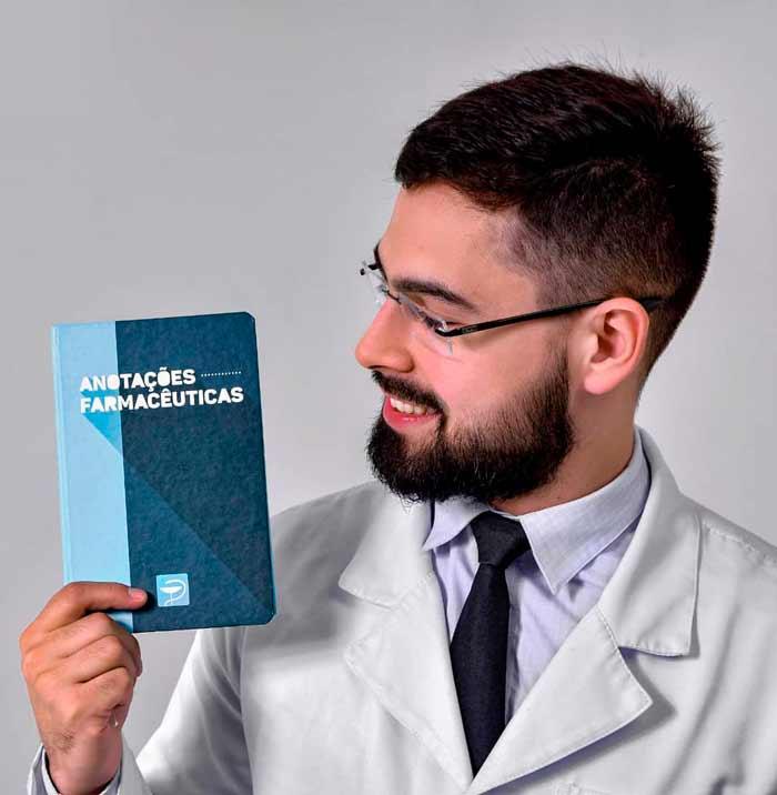 Caderneta de Anotações Farmacêuticas