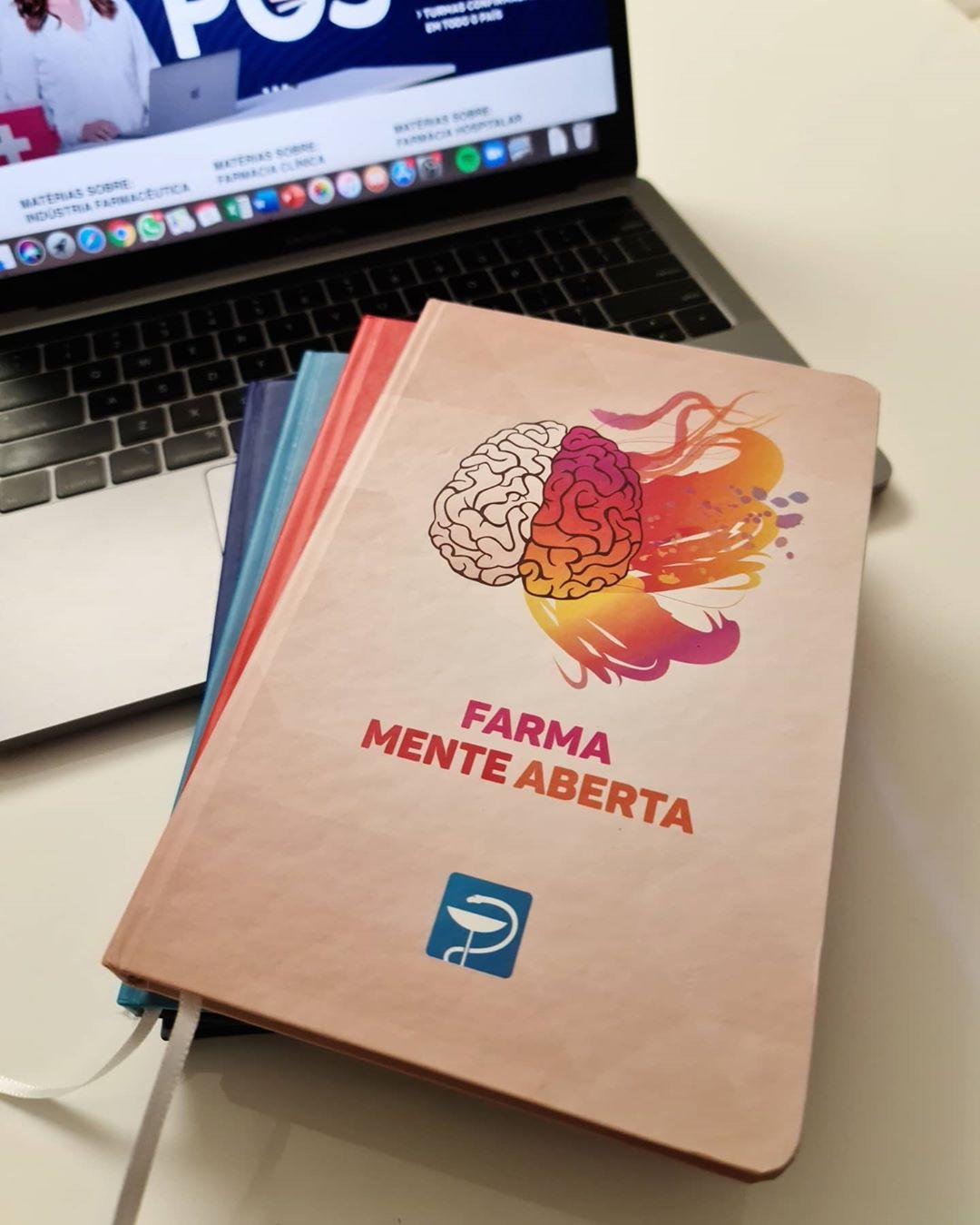 Caderneta Farma Mente Aberta