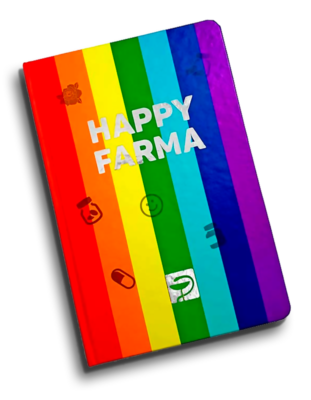 Caderneta Happy Farma