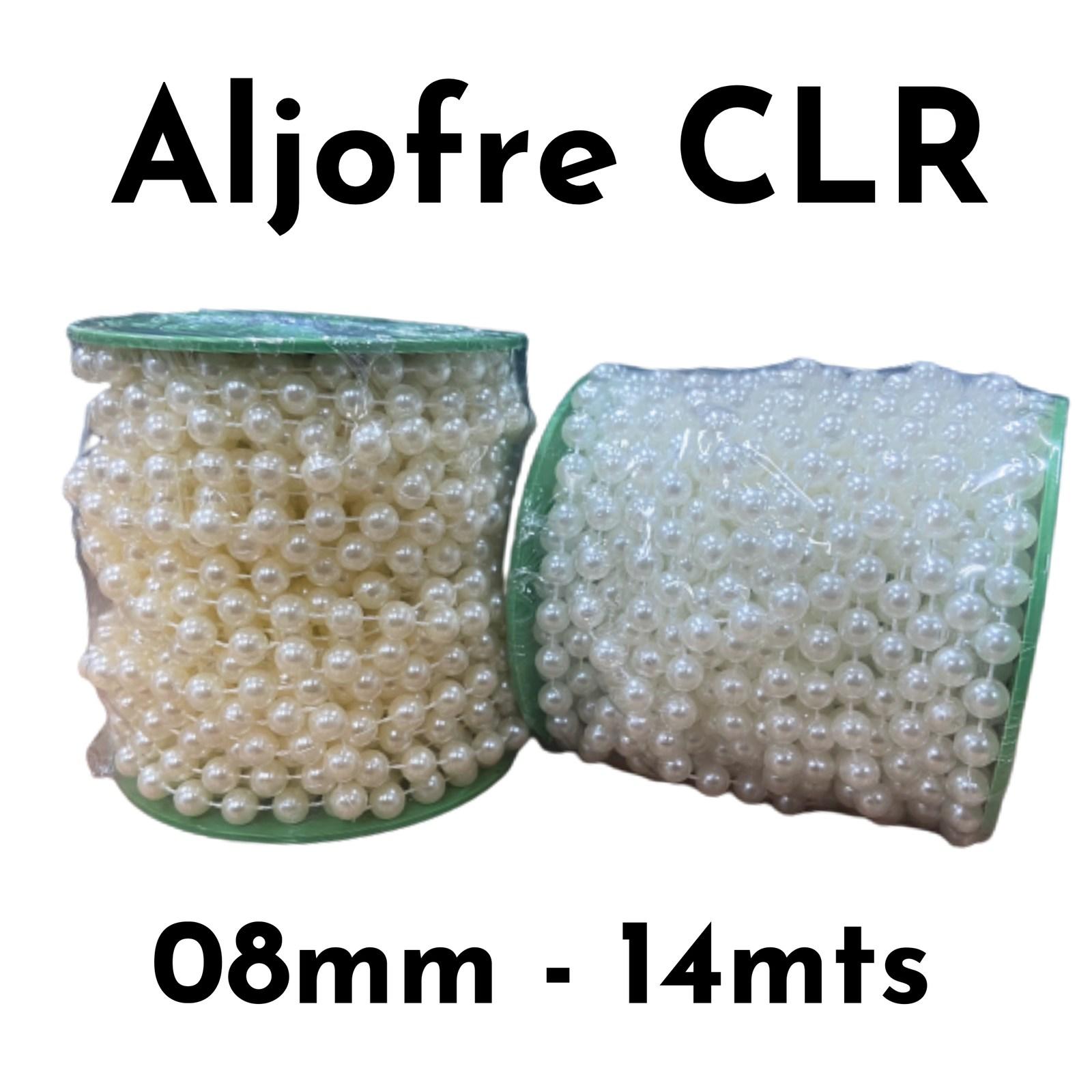 Aljofre Colore 08mm - 16 metros