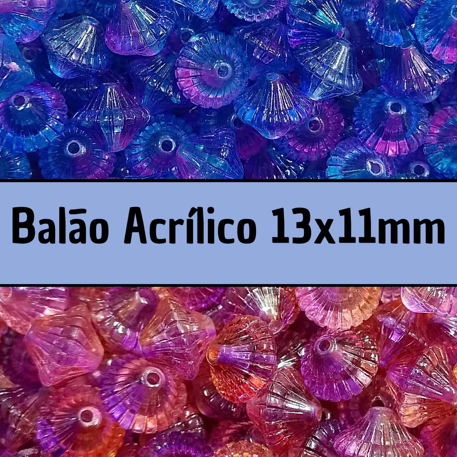 Balão Acrílico 13x11mm c/ 500g