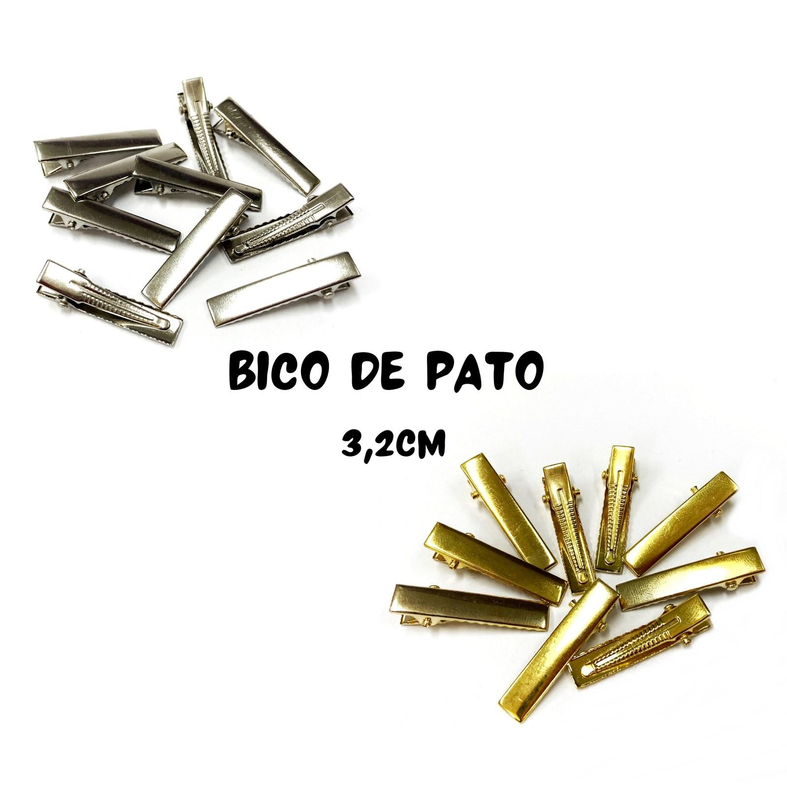 Bico de Pato 3,2cm - 10 unidades