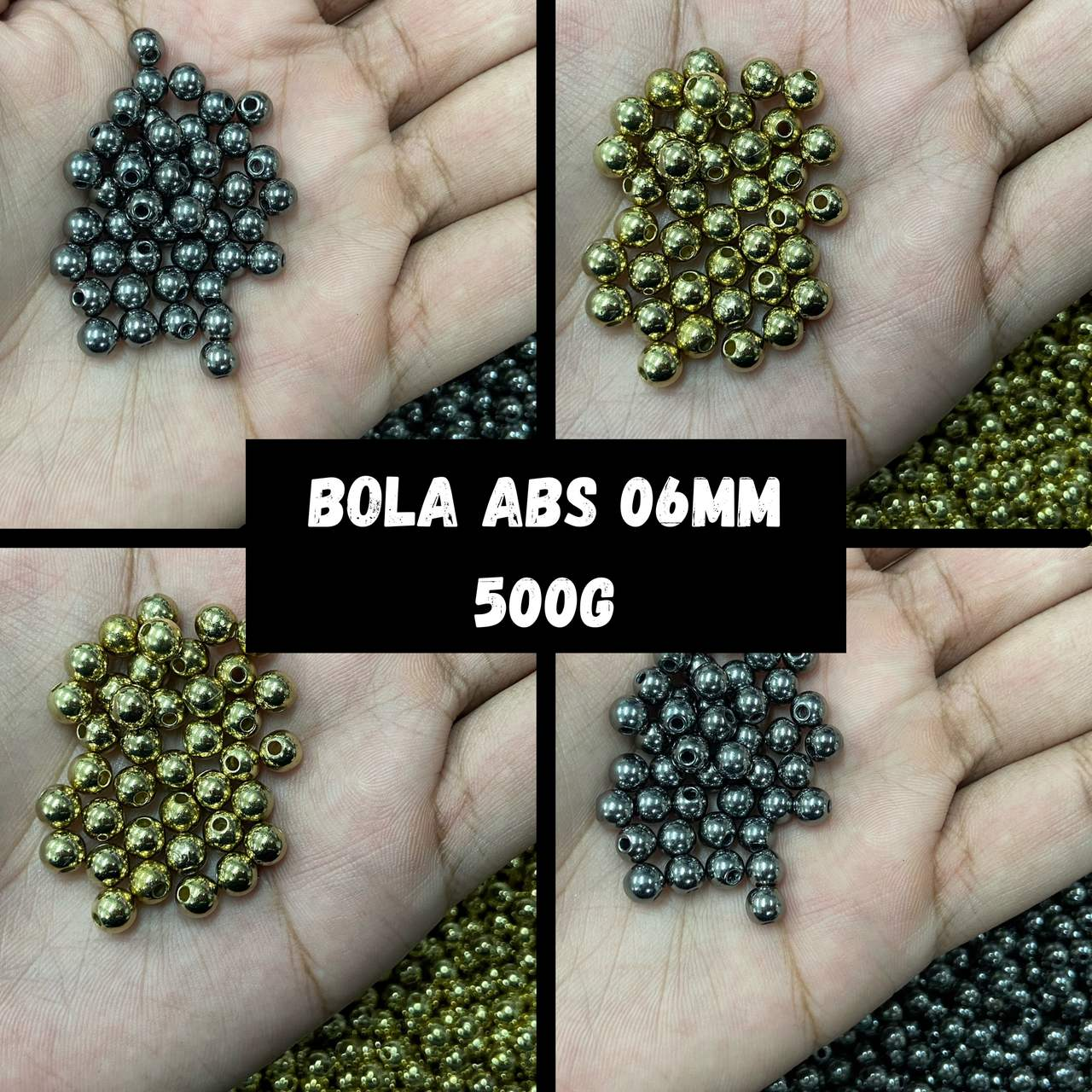 Bola ABS 06mm - 500g