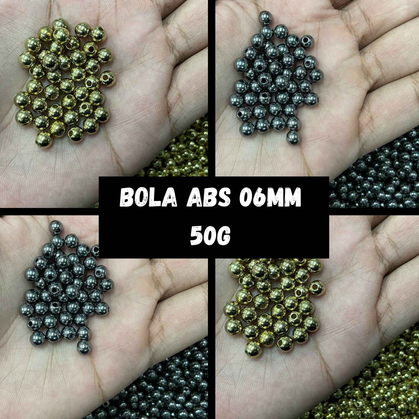 Bola ABS 06mm - 50g