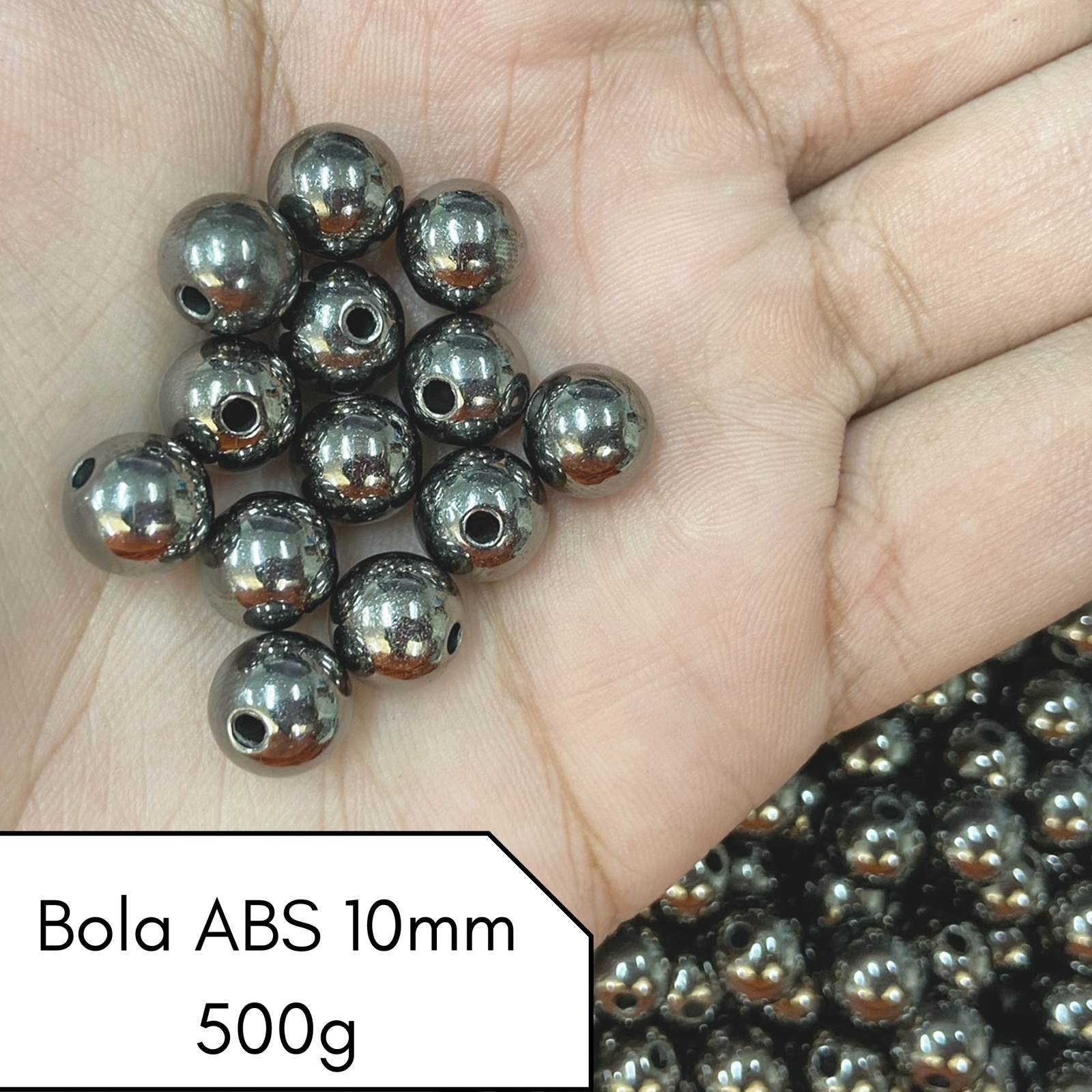 Bola ABS 10mm - 500g
