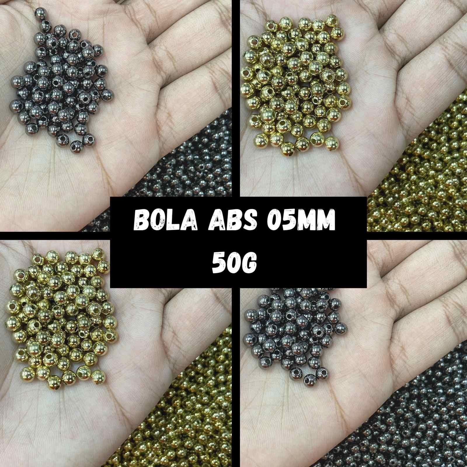 Bola ABS Metalizada 5mm - 50g