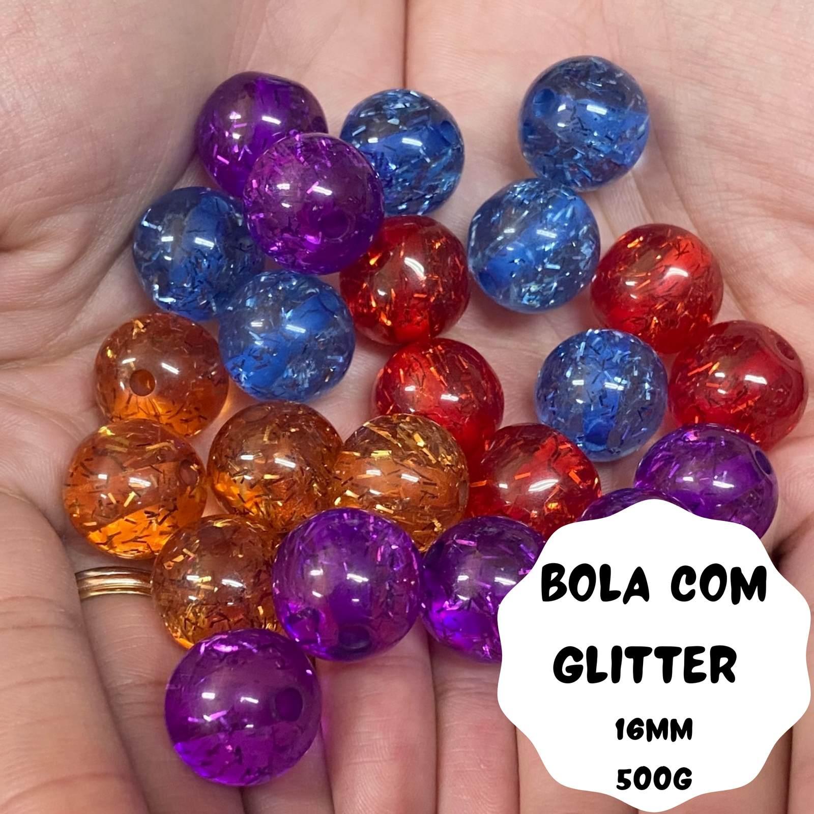 Bola Glitter 16mm - 500g
