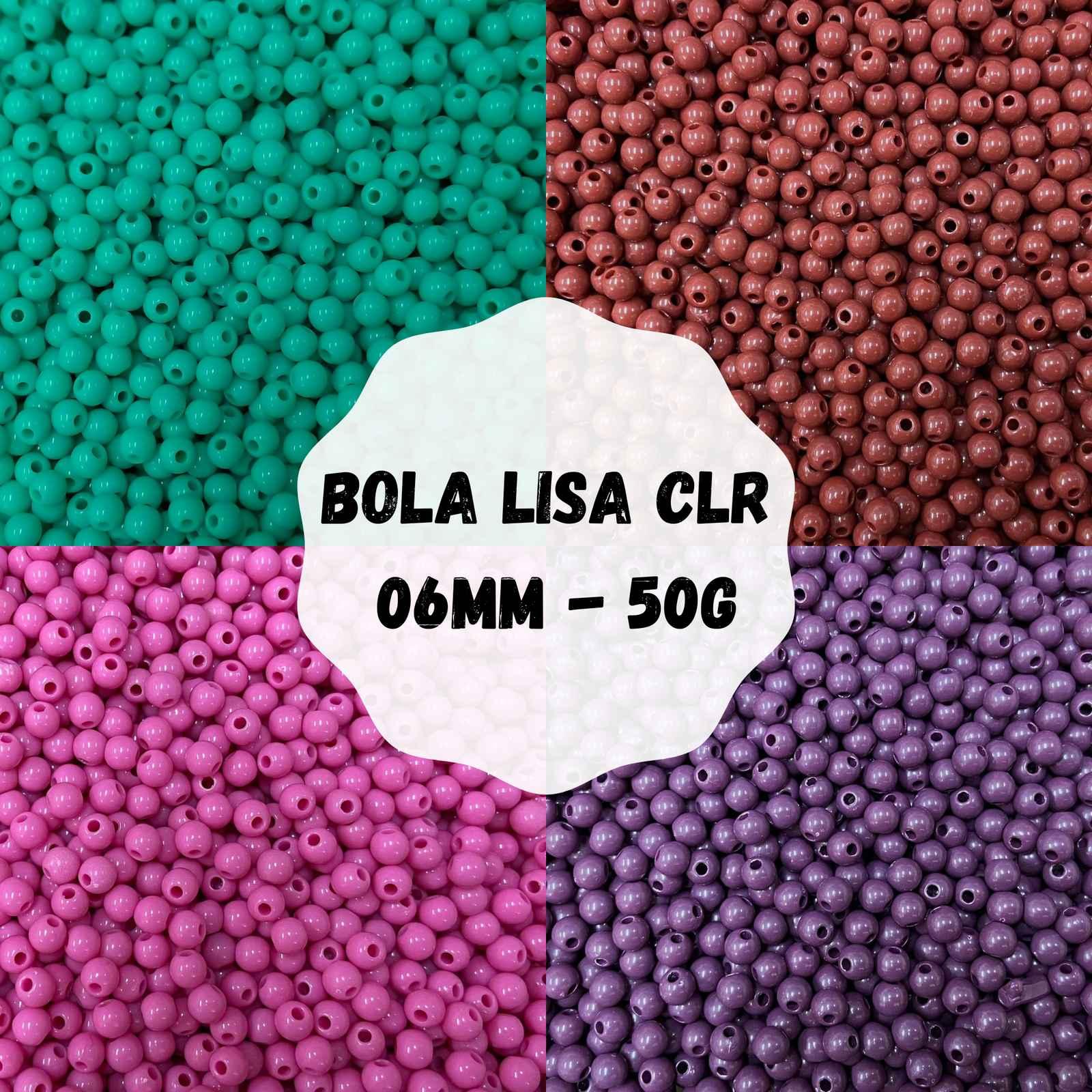 Bola Lisa CLR 06mm - 50g