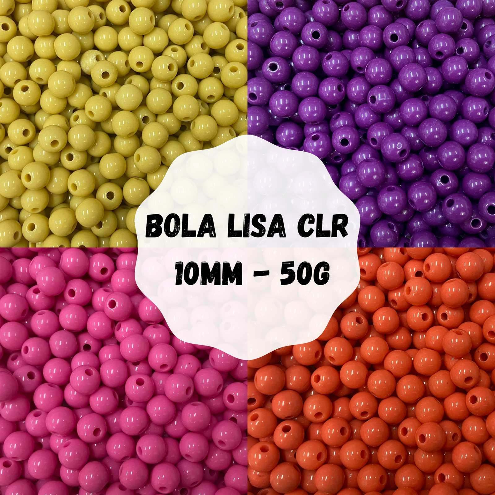 Bola Lisa CLR 10mm - 50g