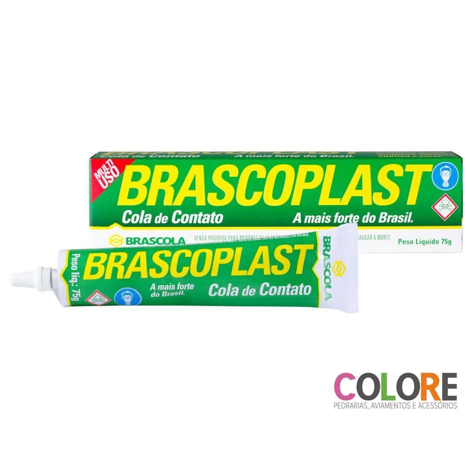 Brascoplast - Cola de Contato com 75 gramas