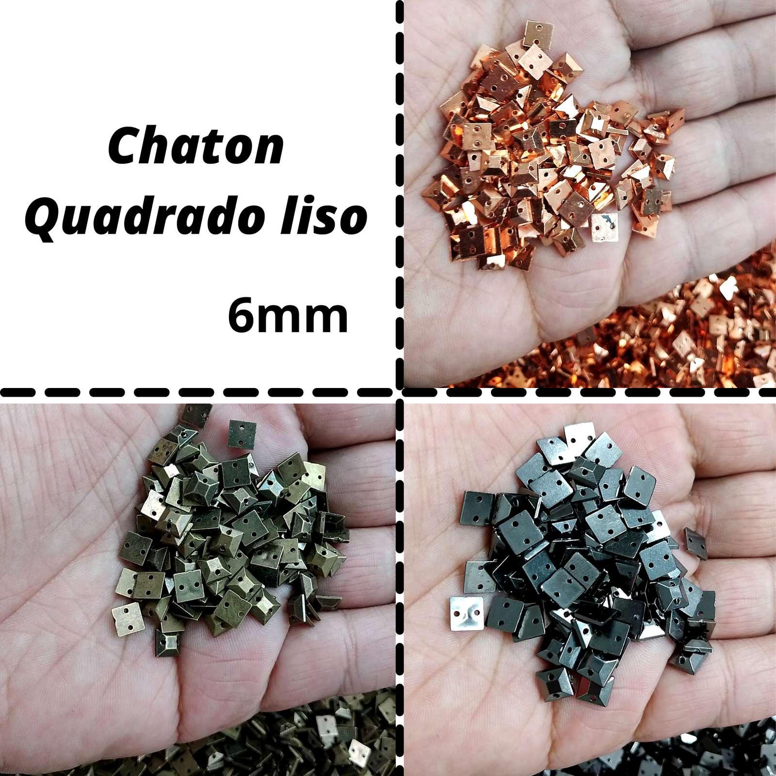Chaton ABS  Quadrado 06mm c/250g
