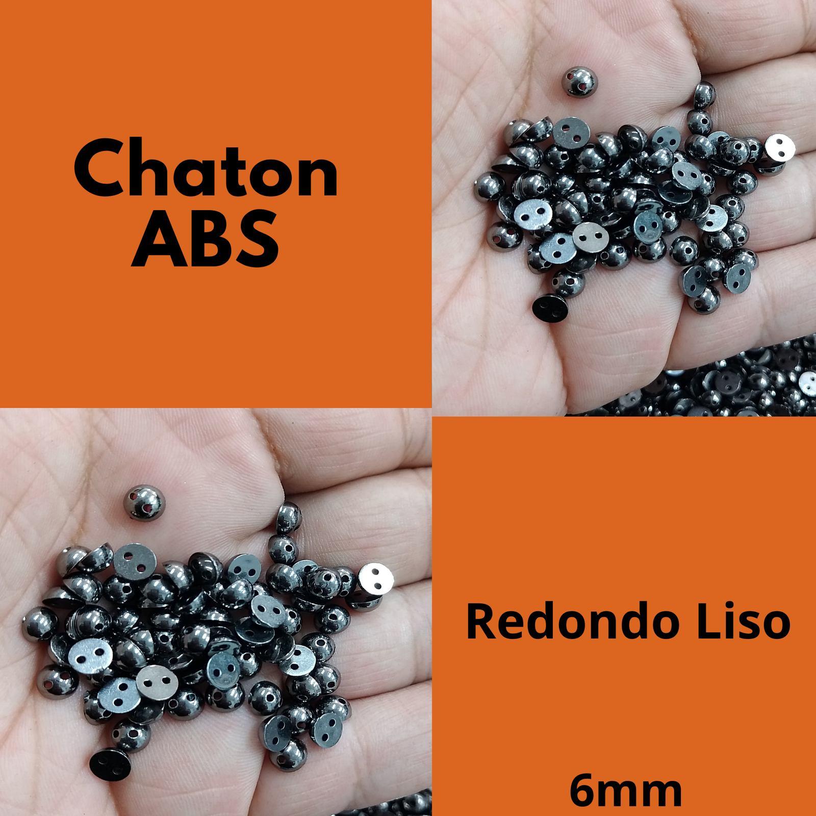 Chaton ABS  Redondo 06mm c/250g