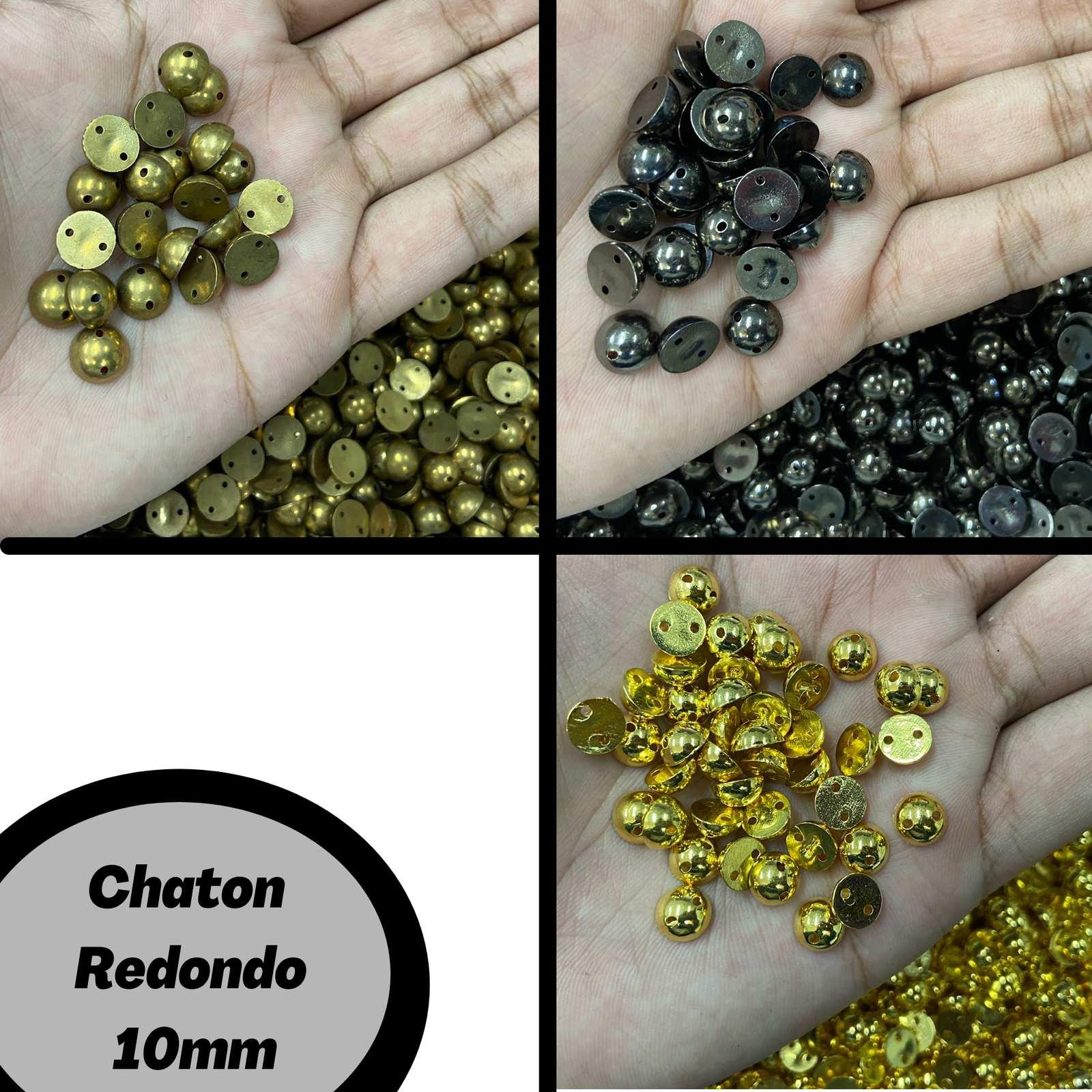 Chaton ABS Redondo 10mm C/250g