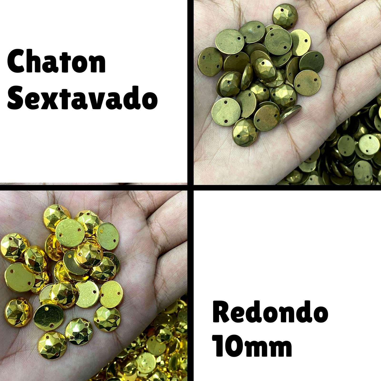 Chaton ABS  Redondo Sextavado 10mm - 250g