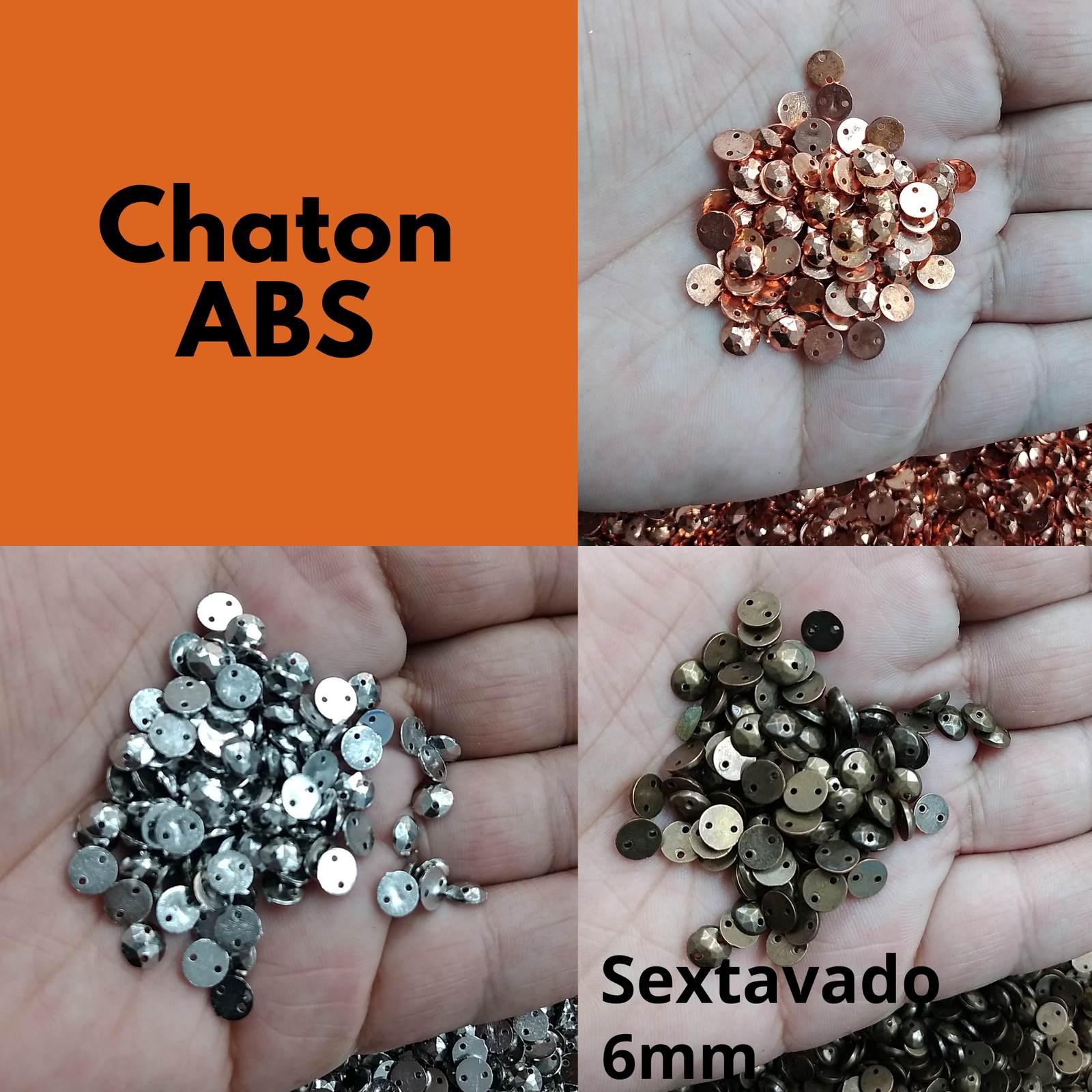 Chaton ABS  Redondo Sextavado 06mm - 250g