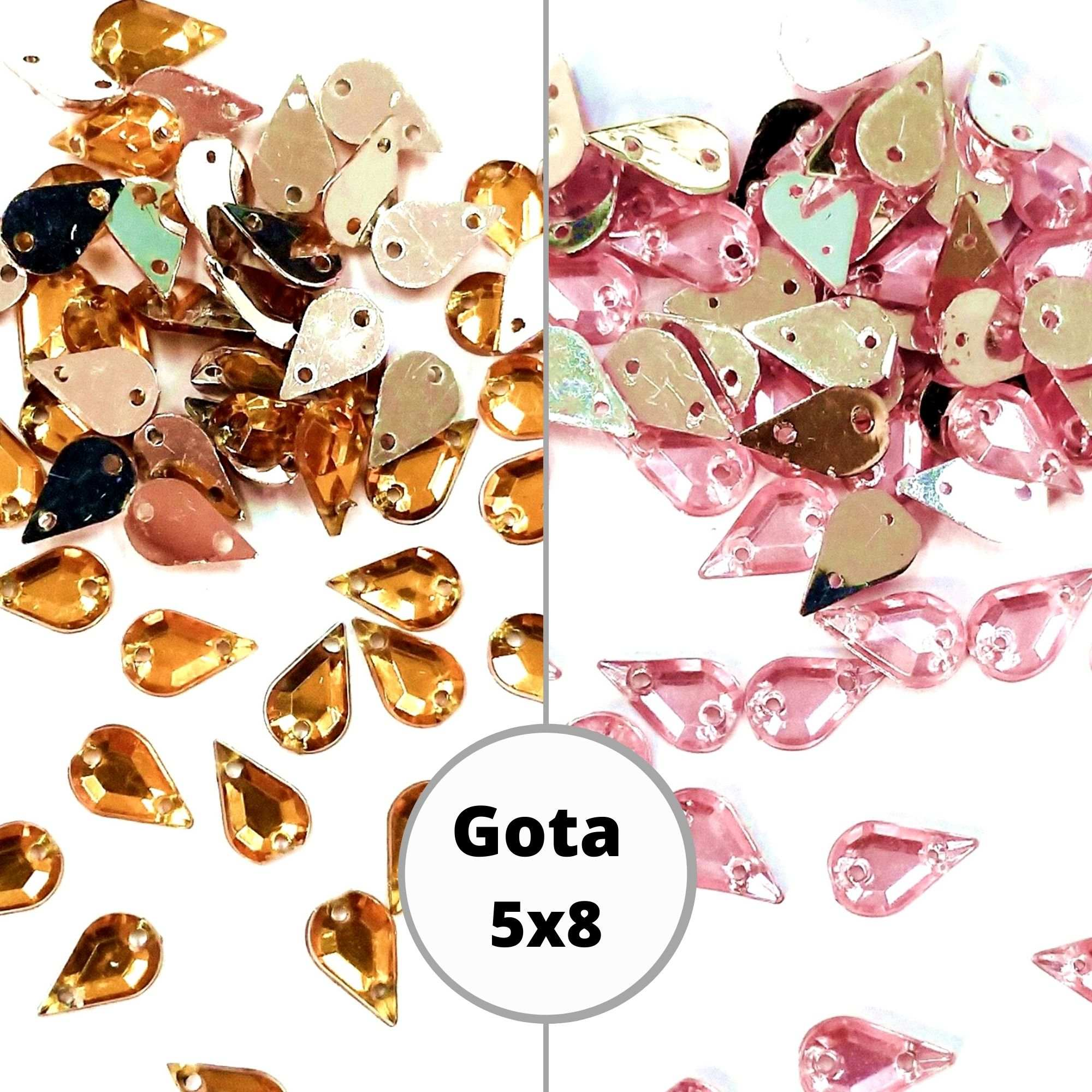 Chaton Gota 5x8 - Pacote com 200 unidades
