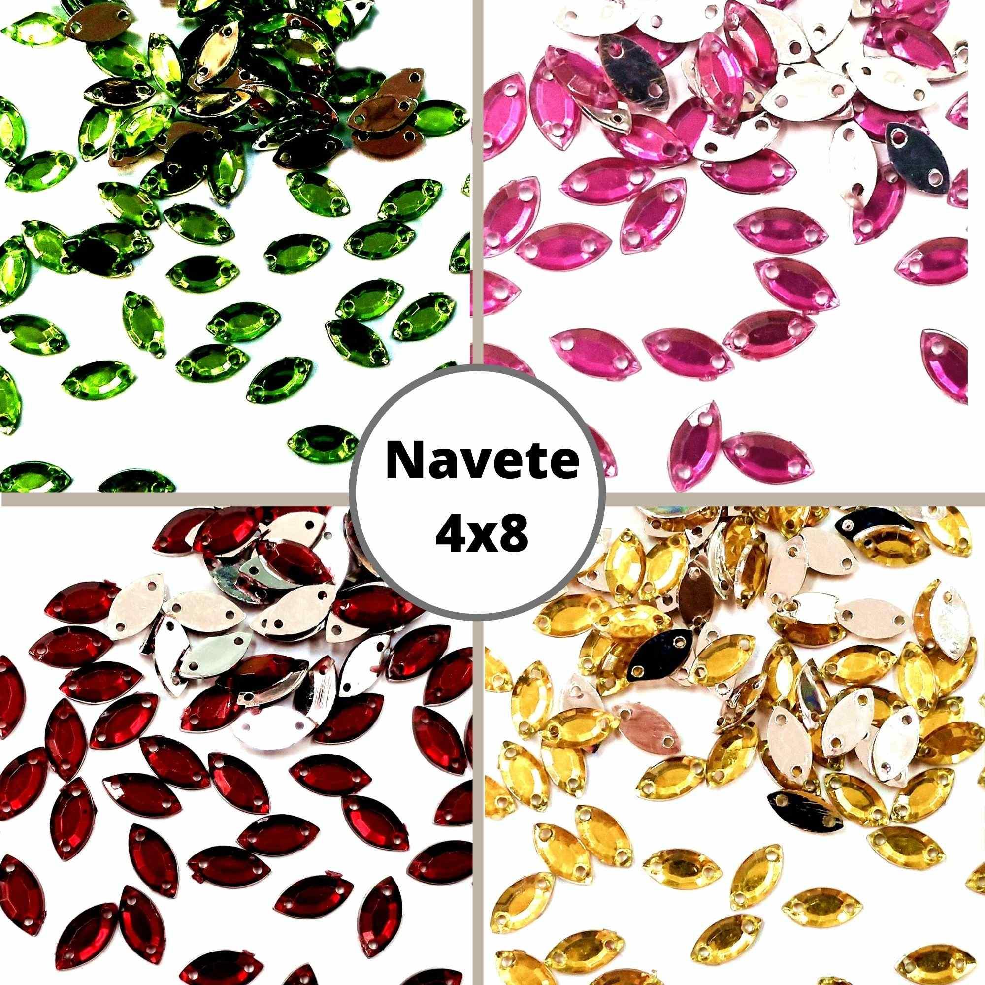 Chaton Navete 4X8 - Pacote com 200 unidades