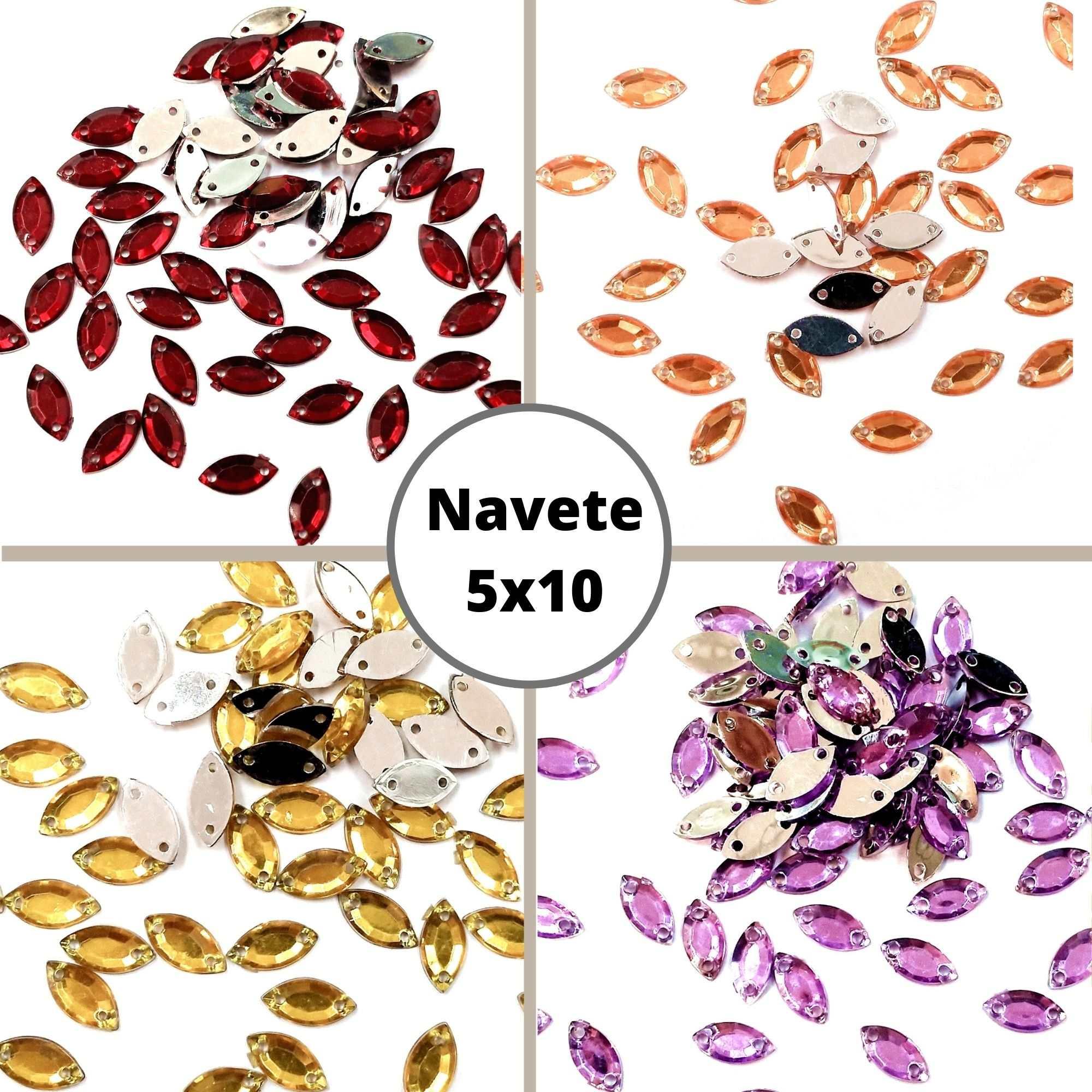 Chaton Navete 5x10 - Pacote com 200 unidades