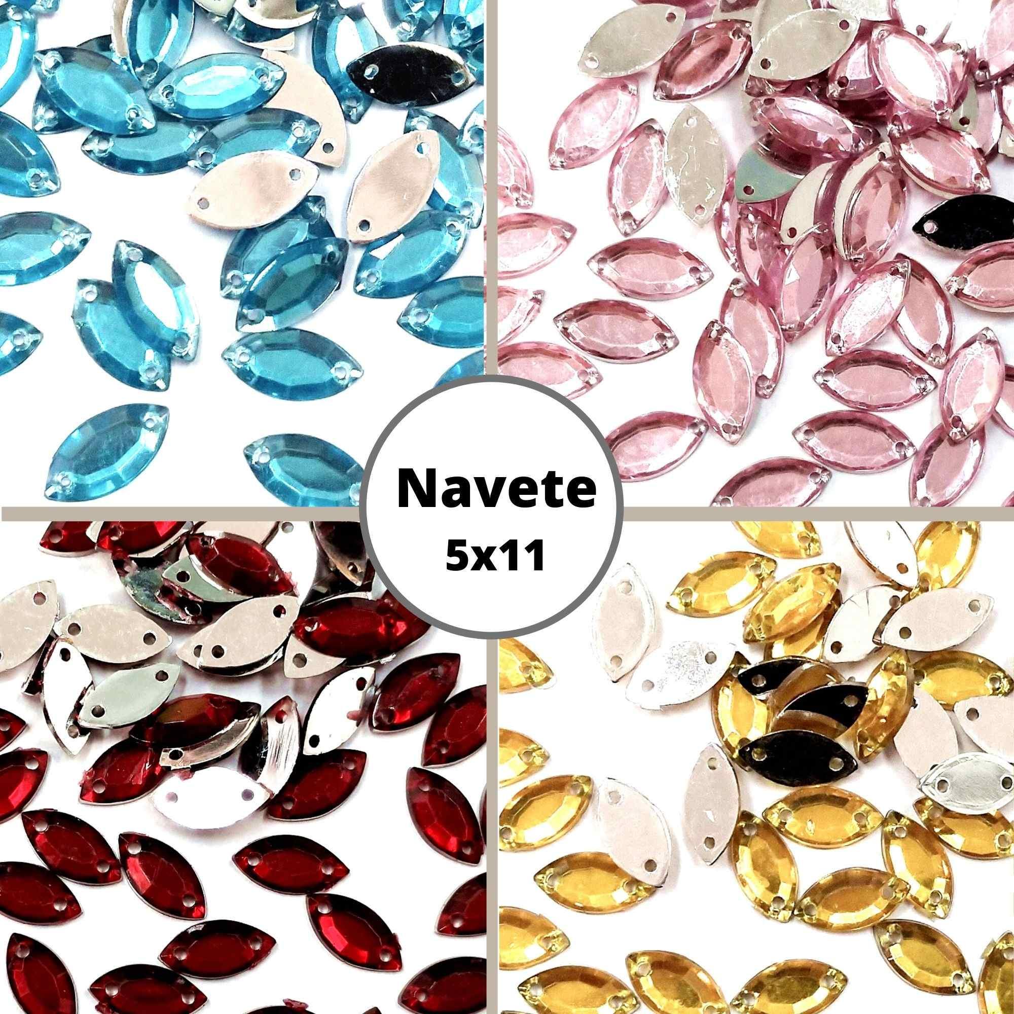 Chaton Navete 5x11 - Pacote com 200 unidades