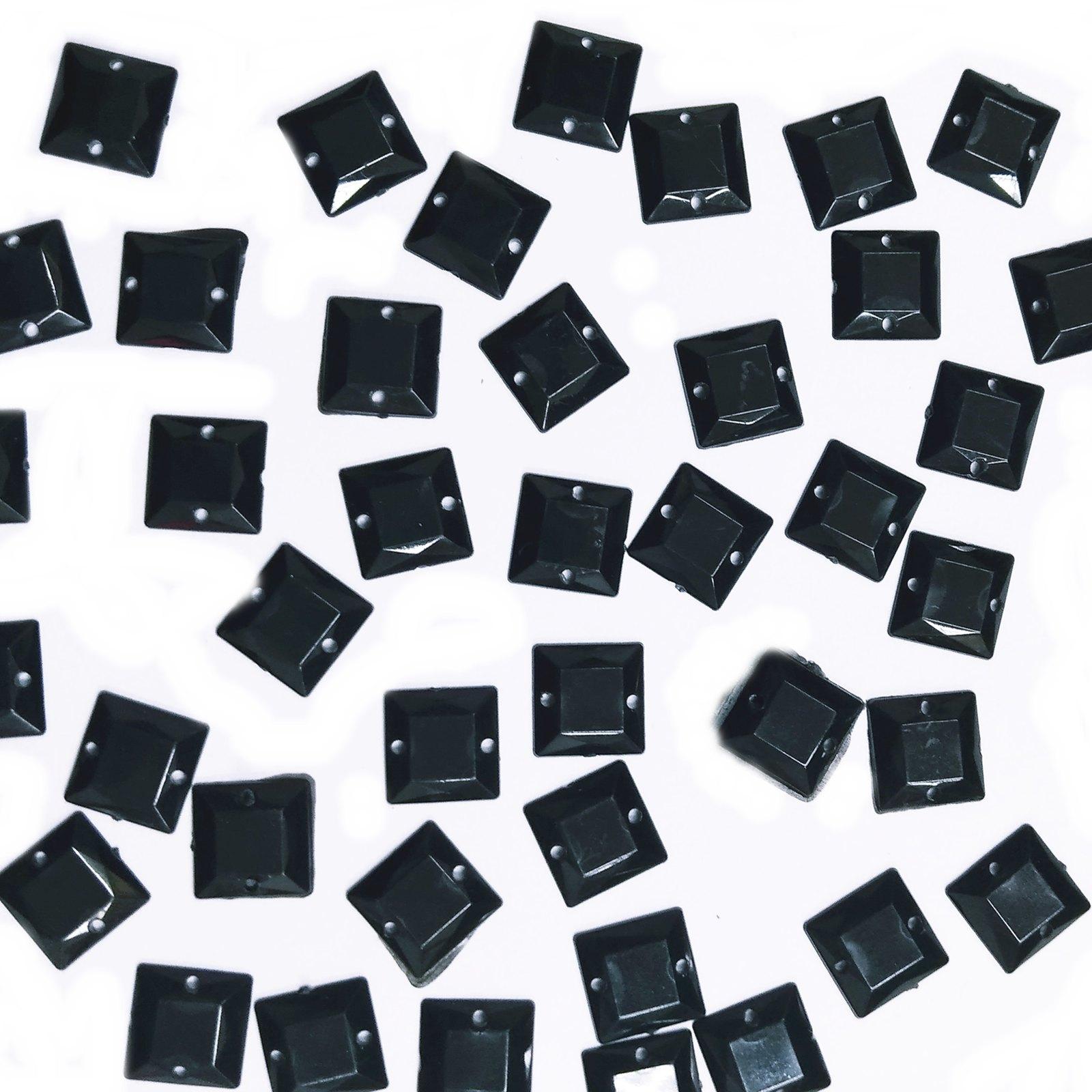 Chaton Quadrado 10x10mm Pacote Com 1.000 unidades - Leitoso