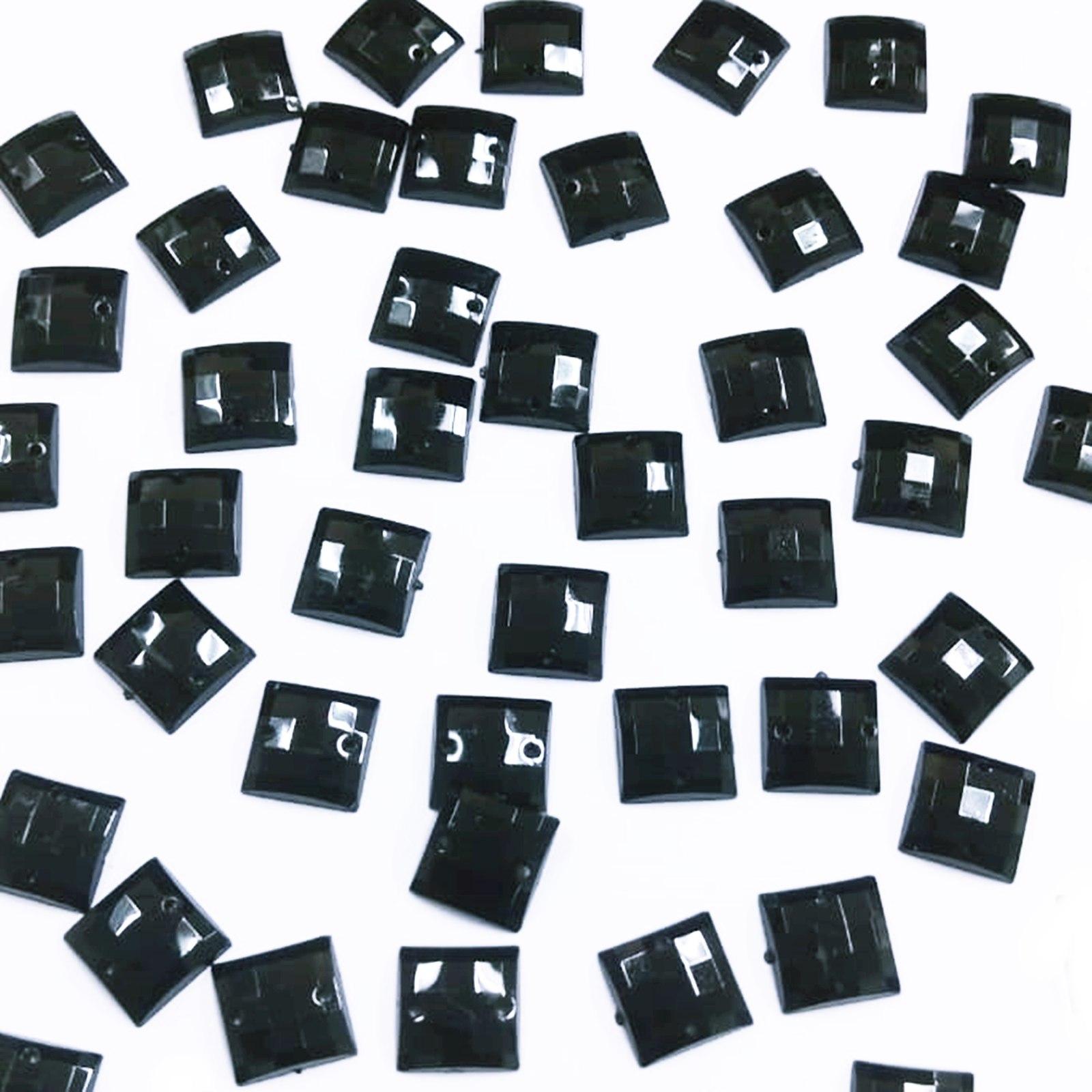 Chaton Quadrado 12x12mm Pacote Com 1.000 unidades - Leitoso