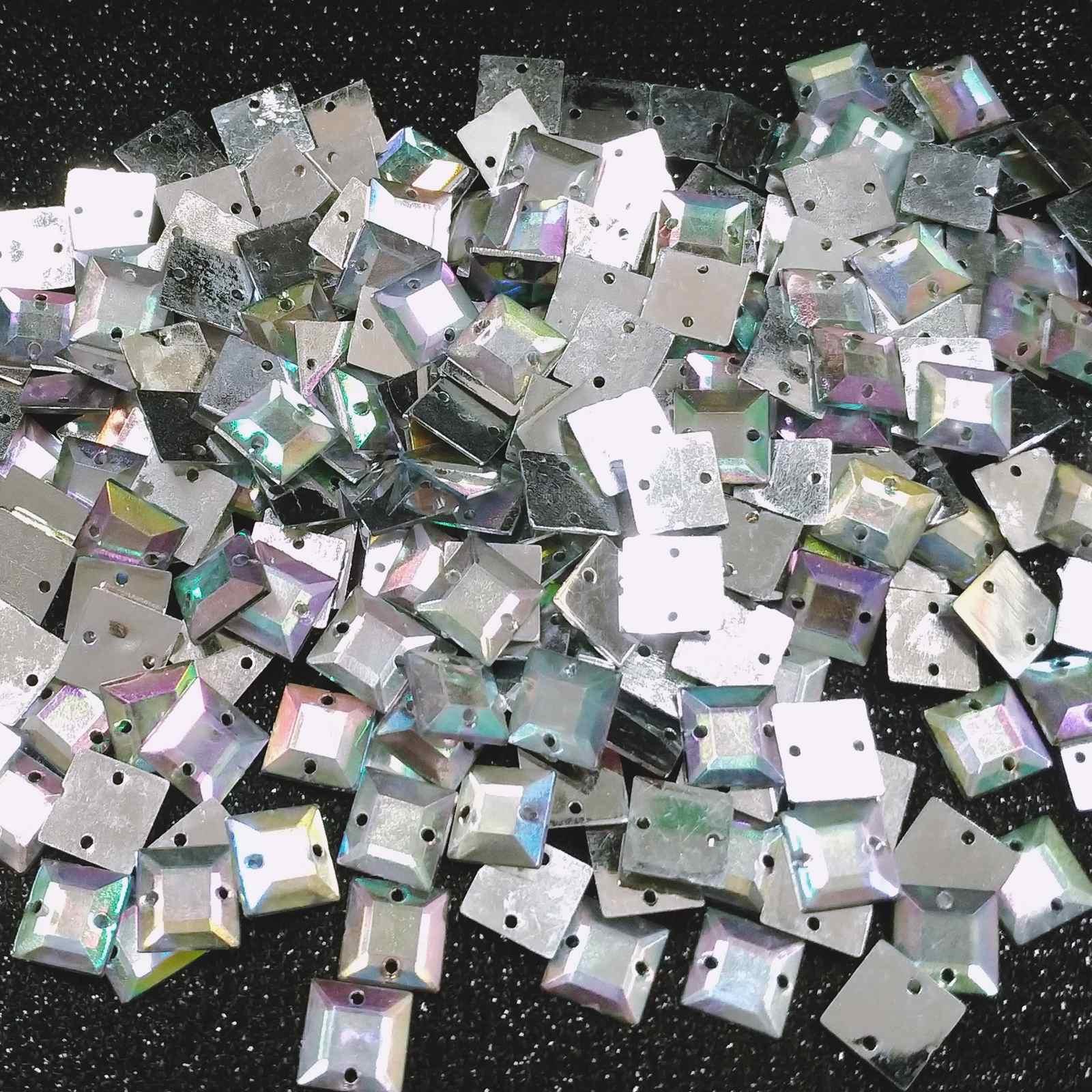 Chaton Quadrado Acrilico - 10x10 - Pacote com 1.000 unidades