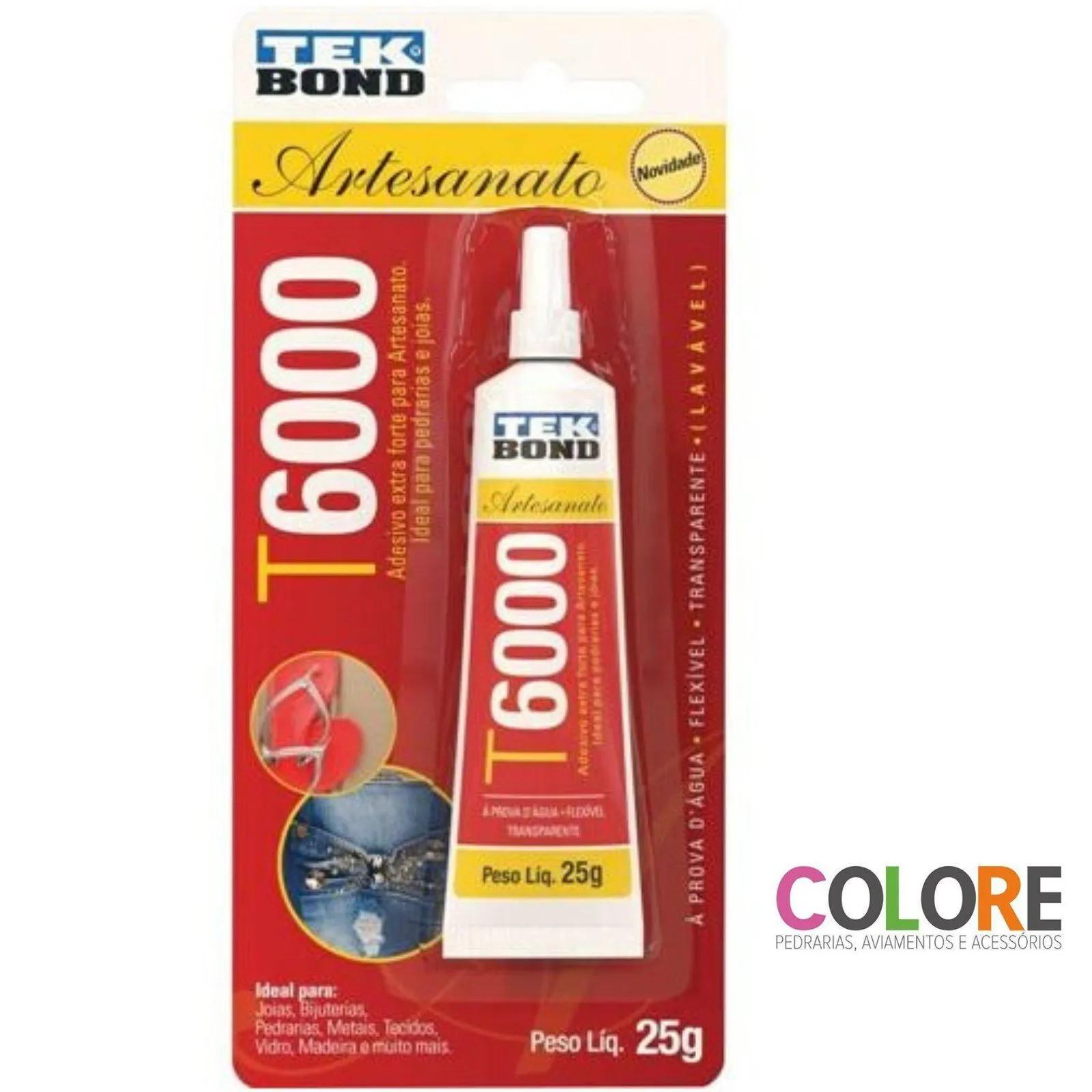 Cola T6000 Tekbond 25 gramas