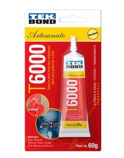 Cola T6000 Tekbond 60 gramas