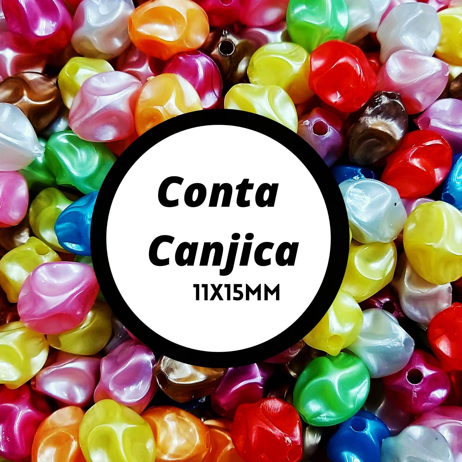 Conta  canjica Resina  Leitosa AS2949 11x15mm c/500g
