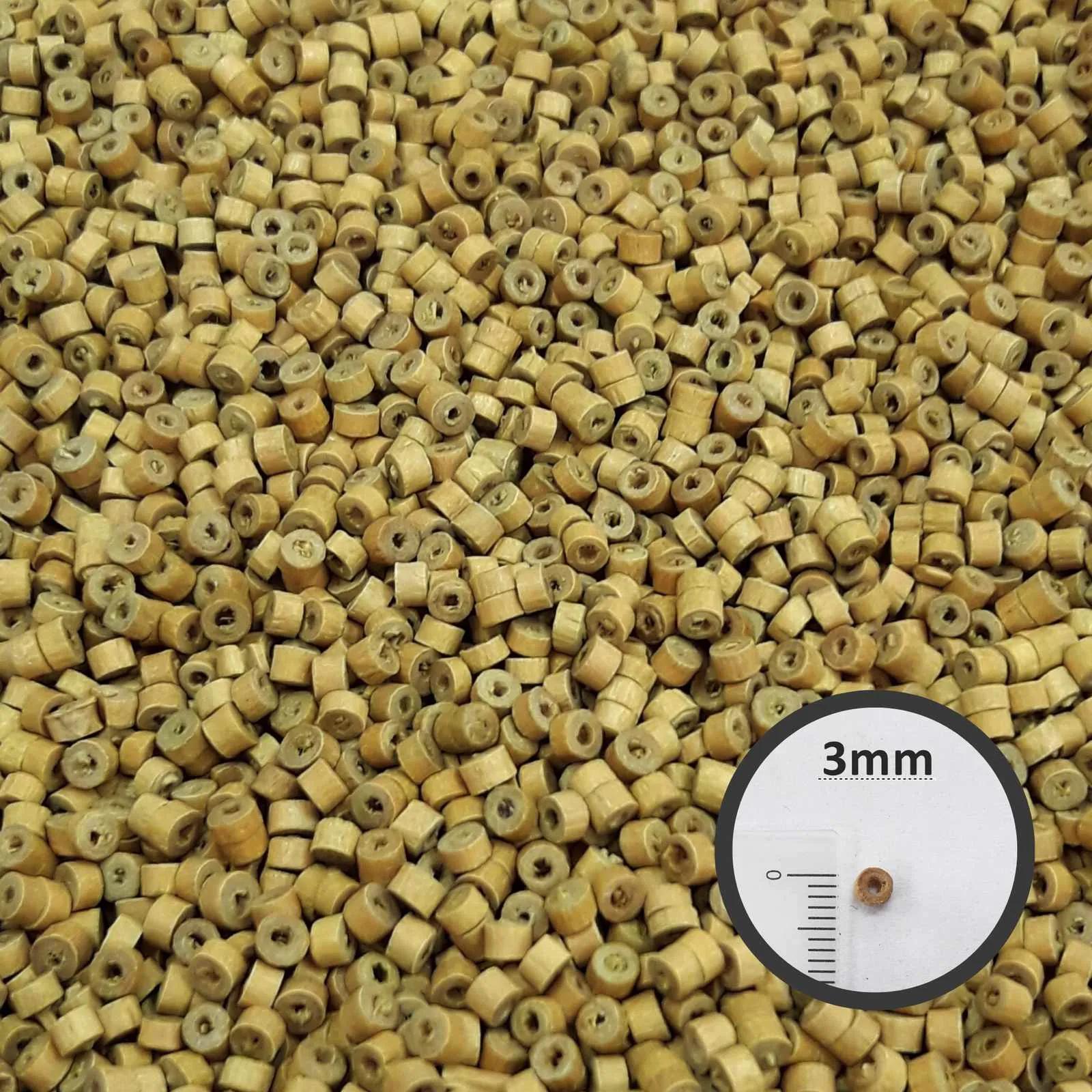 Conta de Madeira 03x2mm AS2843 10000 unidades