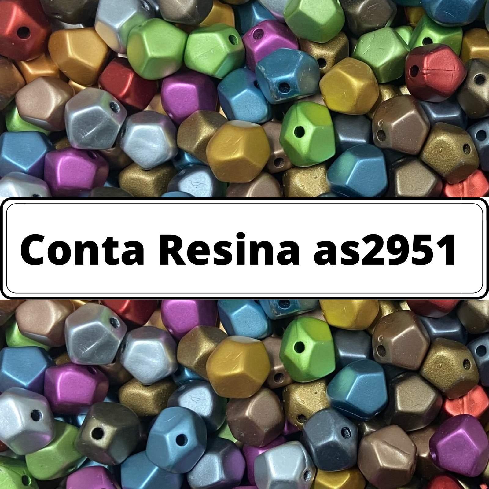 Conta de Resina 11mm as2951 - 500g