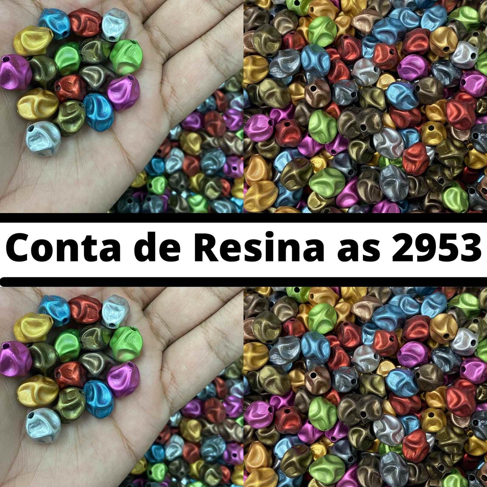 Conta de Resina 14mm as2953 - 500g