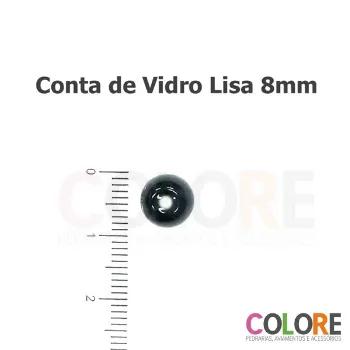 Conta de Vidro 08mm - 250g