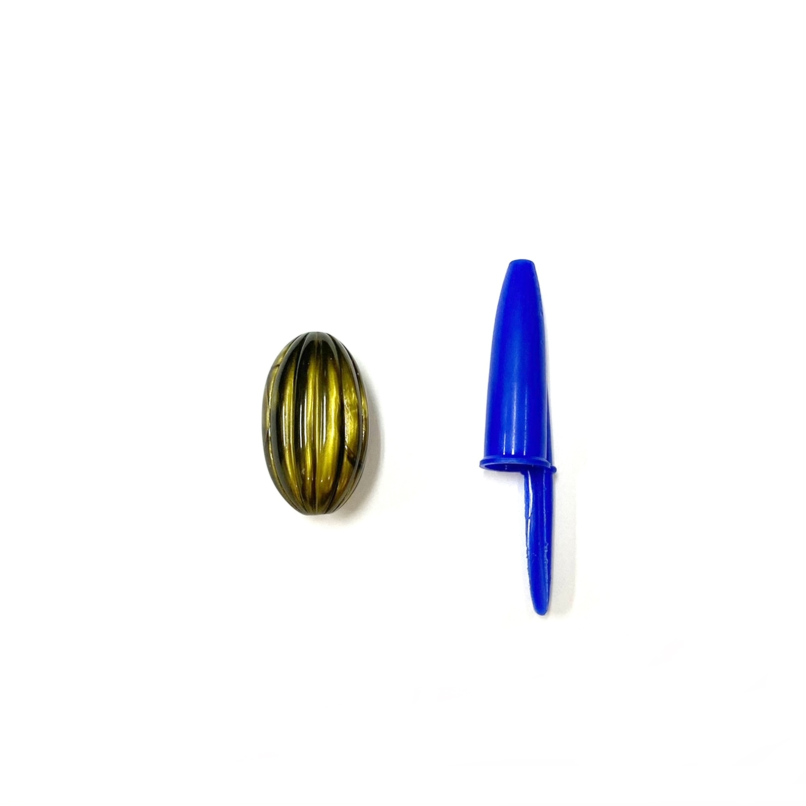 Conta Plástica Oval 28x16mm - 500g