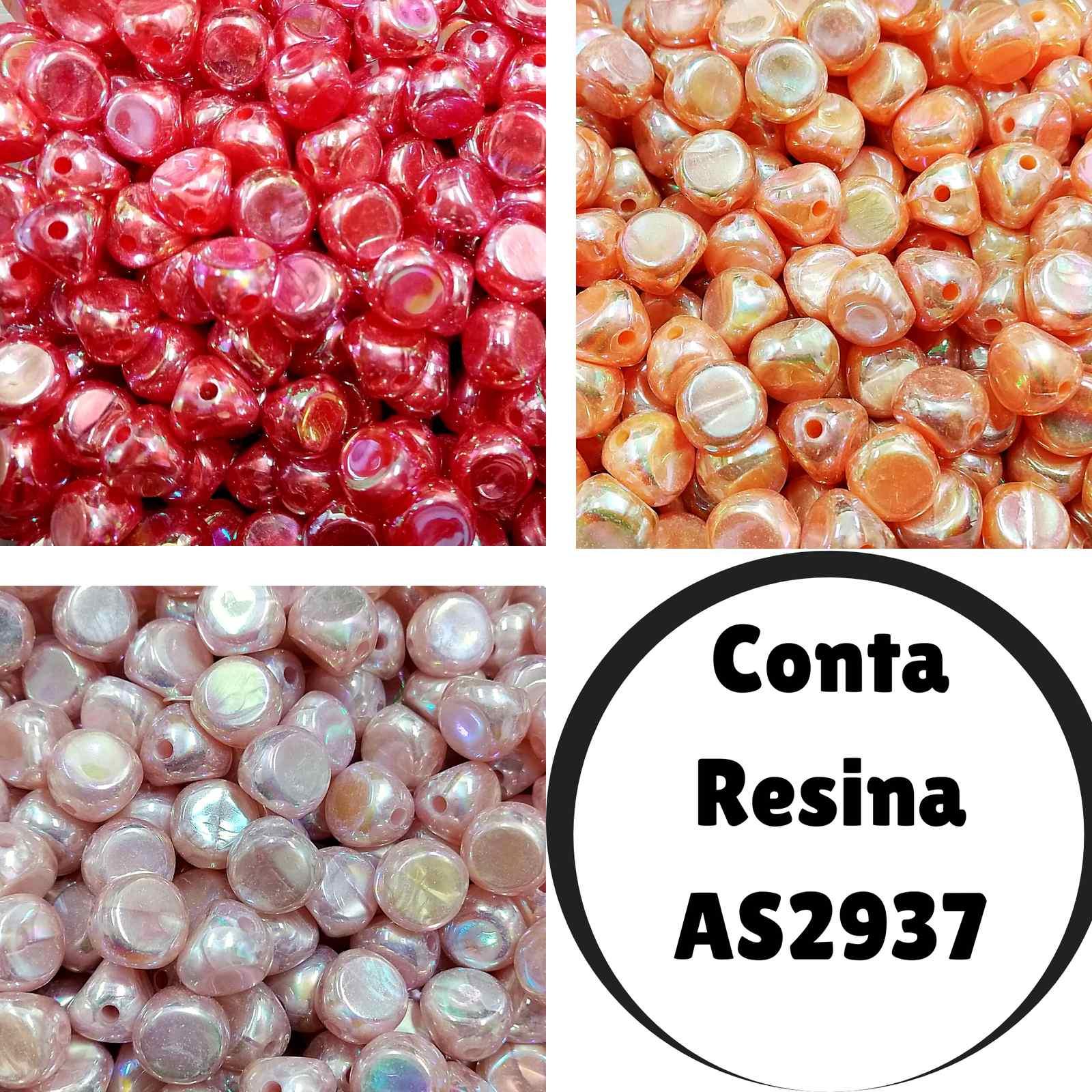 Conta Resina Metalica  AS2937 15mm c/500g