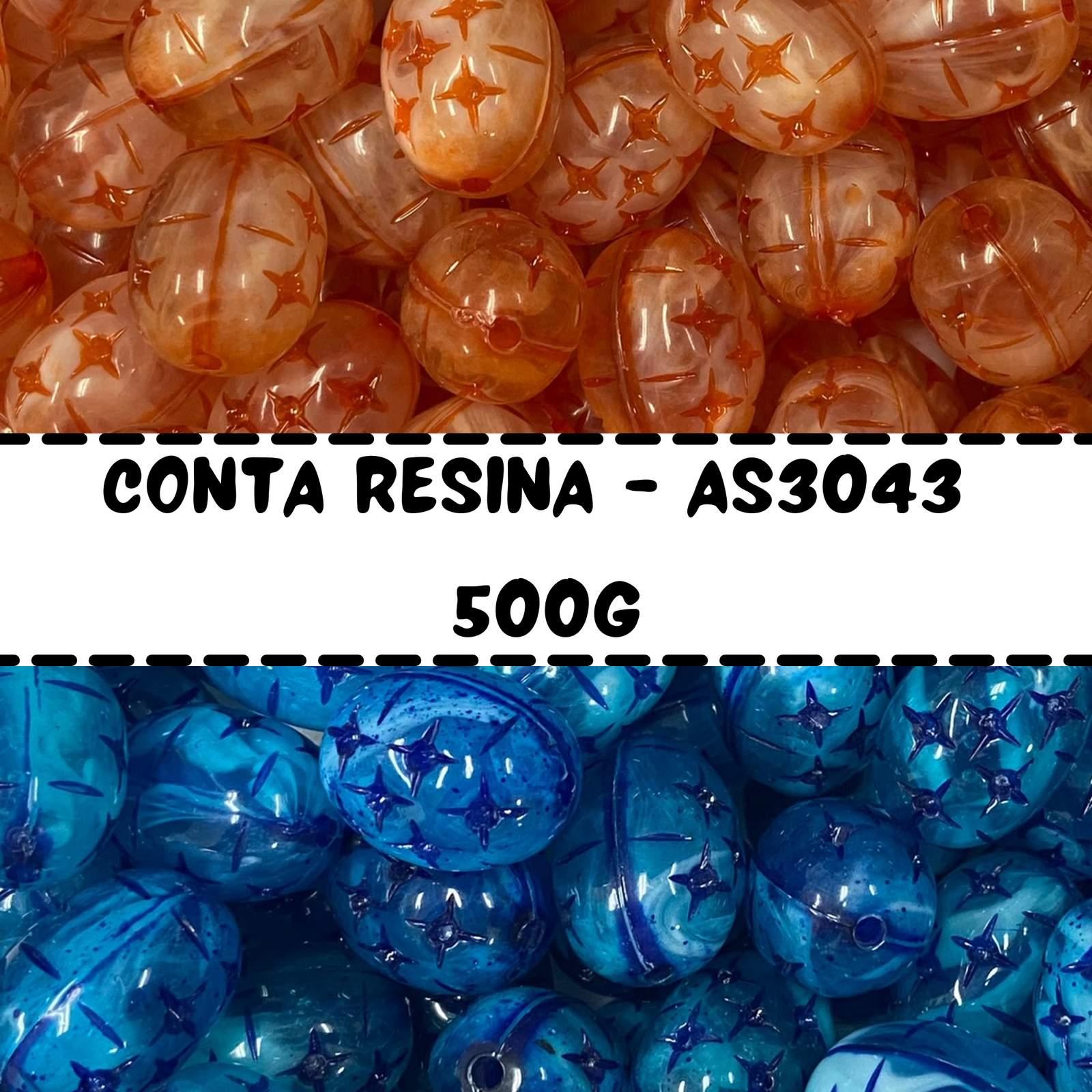 Conta Resina Oval AS3043 - 500g