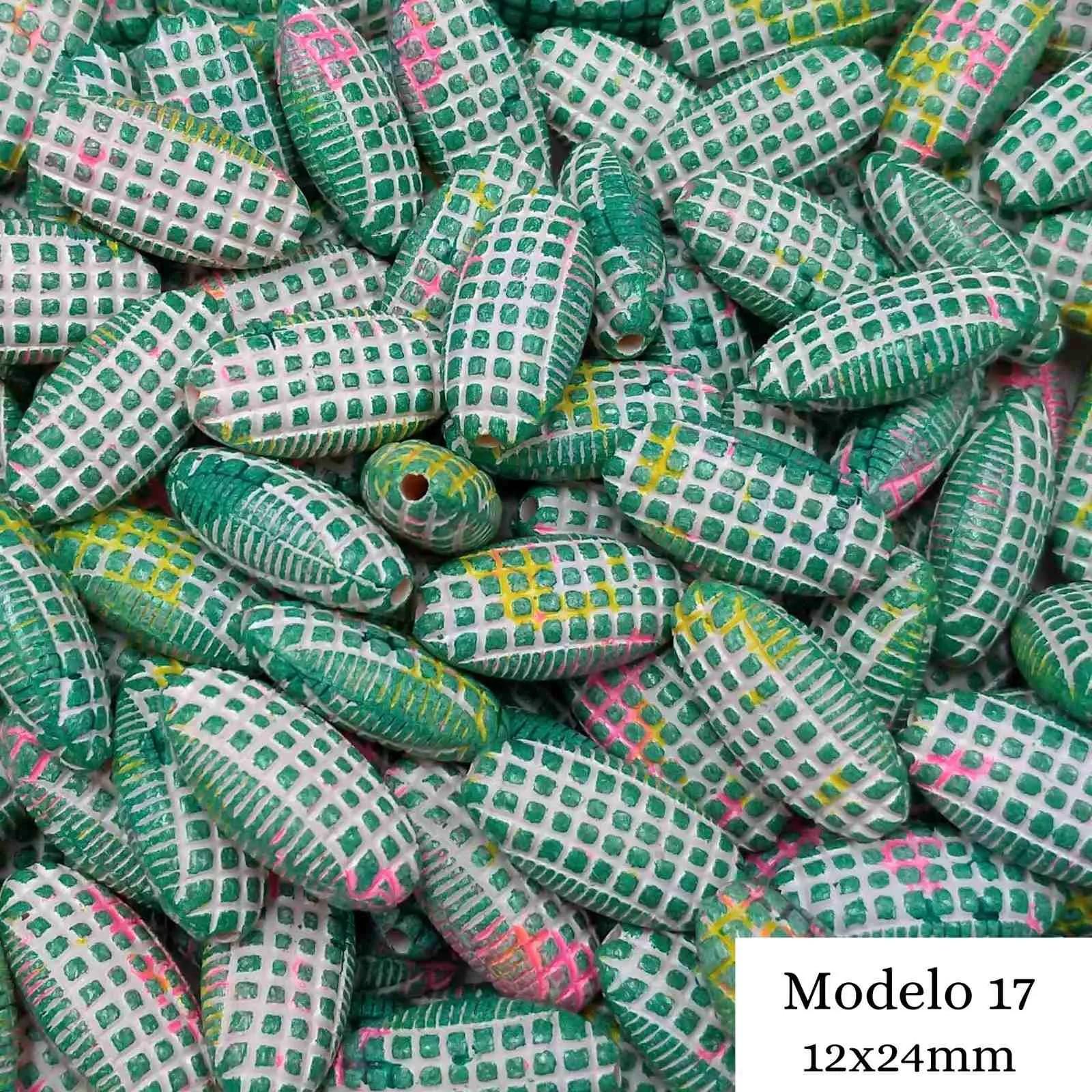 Contas Tie Dye - Pacote c/ 50g
