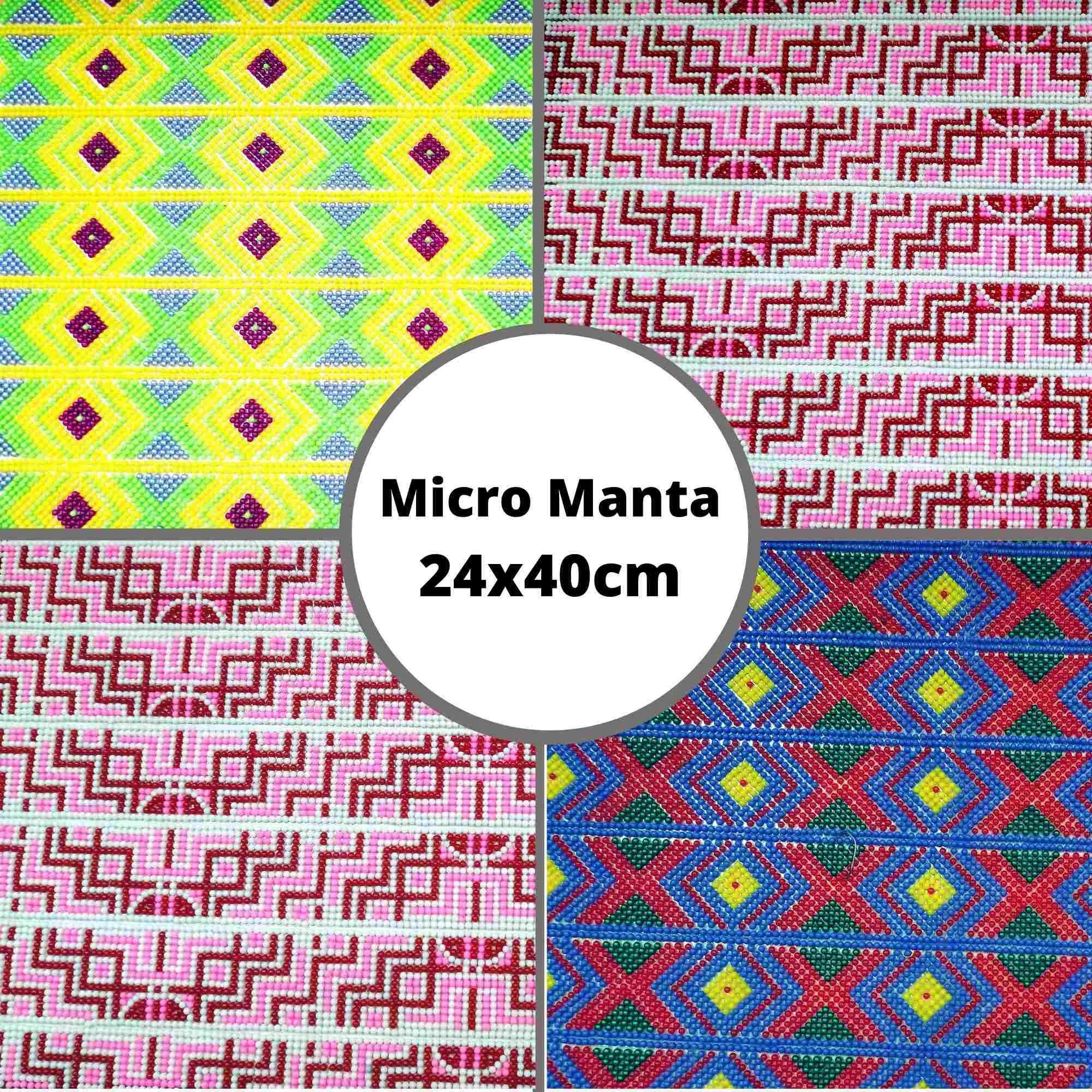 Micro Manta Caviar - Tamanho 24x40cm - 1 unidade