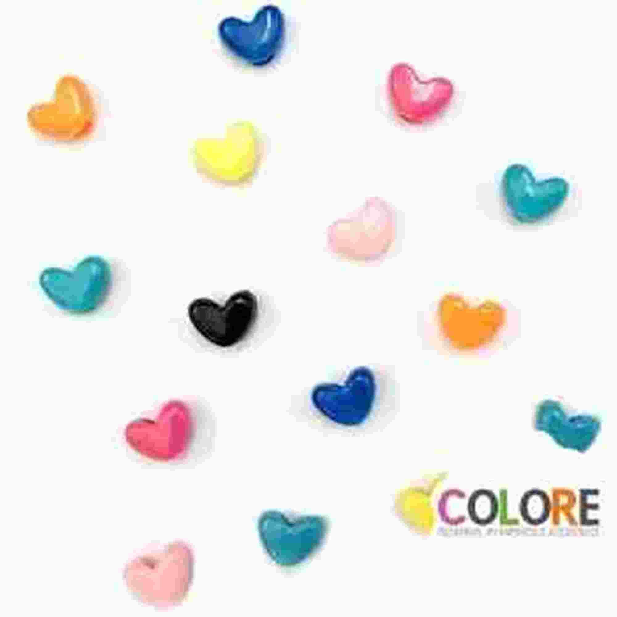 Coração Tererê Transparente - 10,0mm - 500g