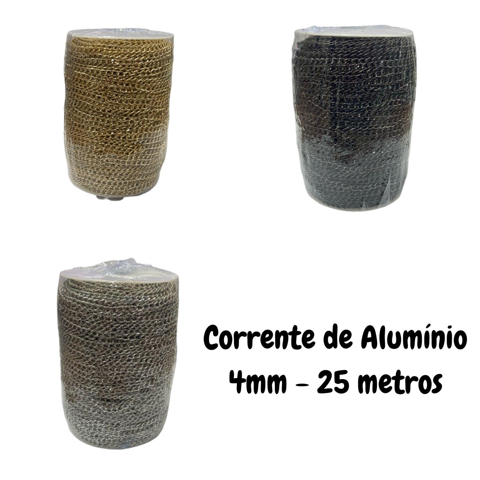 Corrente de Alumínio 4mm - 100 metros