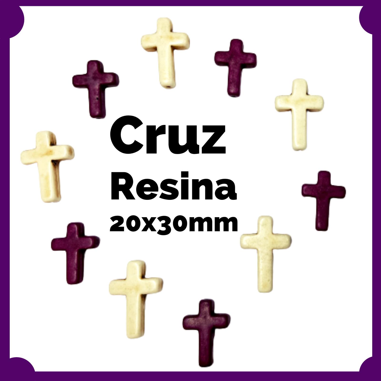 Cruz Resina 20x30mm