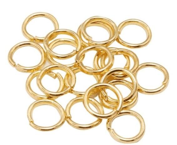 Elo p/ Bijuteria 10mm Dourado c/ 50g