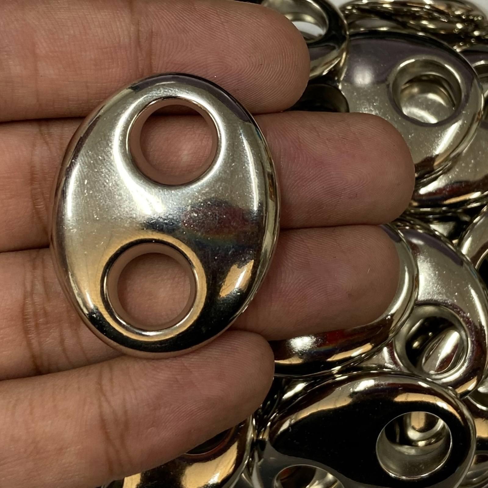 Entremeio ABS 4,2cm x 3,4cm - 100 peças