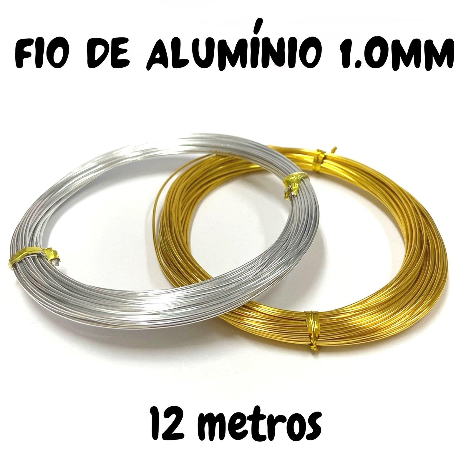 Fio de Alumínio 1mm - 12 metros