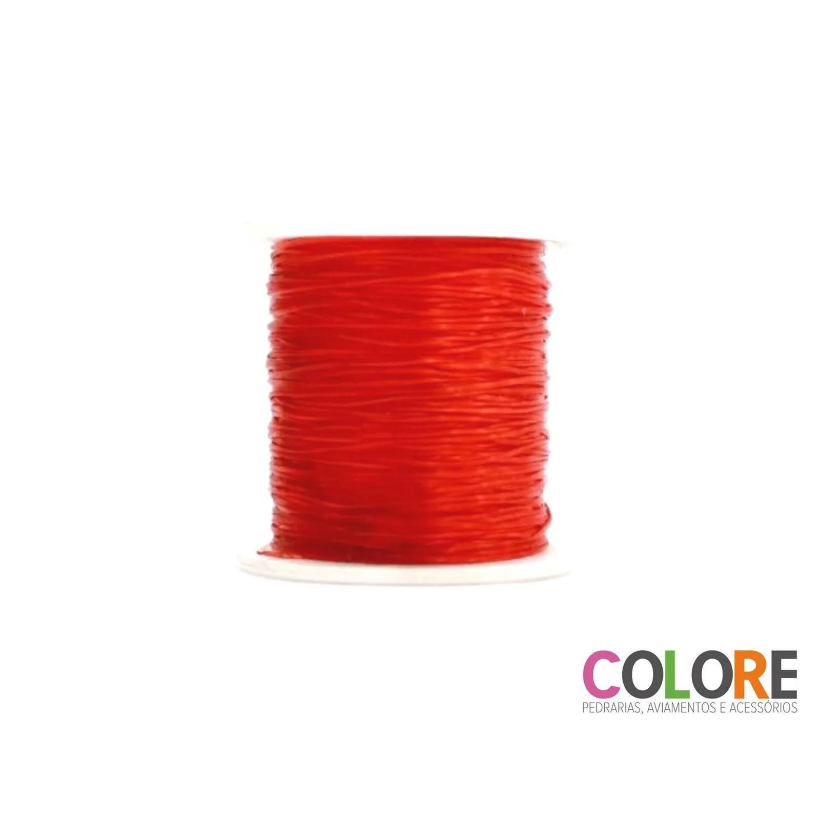 Fio Elástico - 0,01mm - Colorido - Rolo com 100 metros