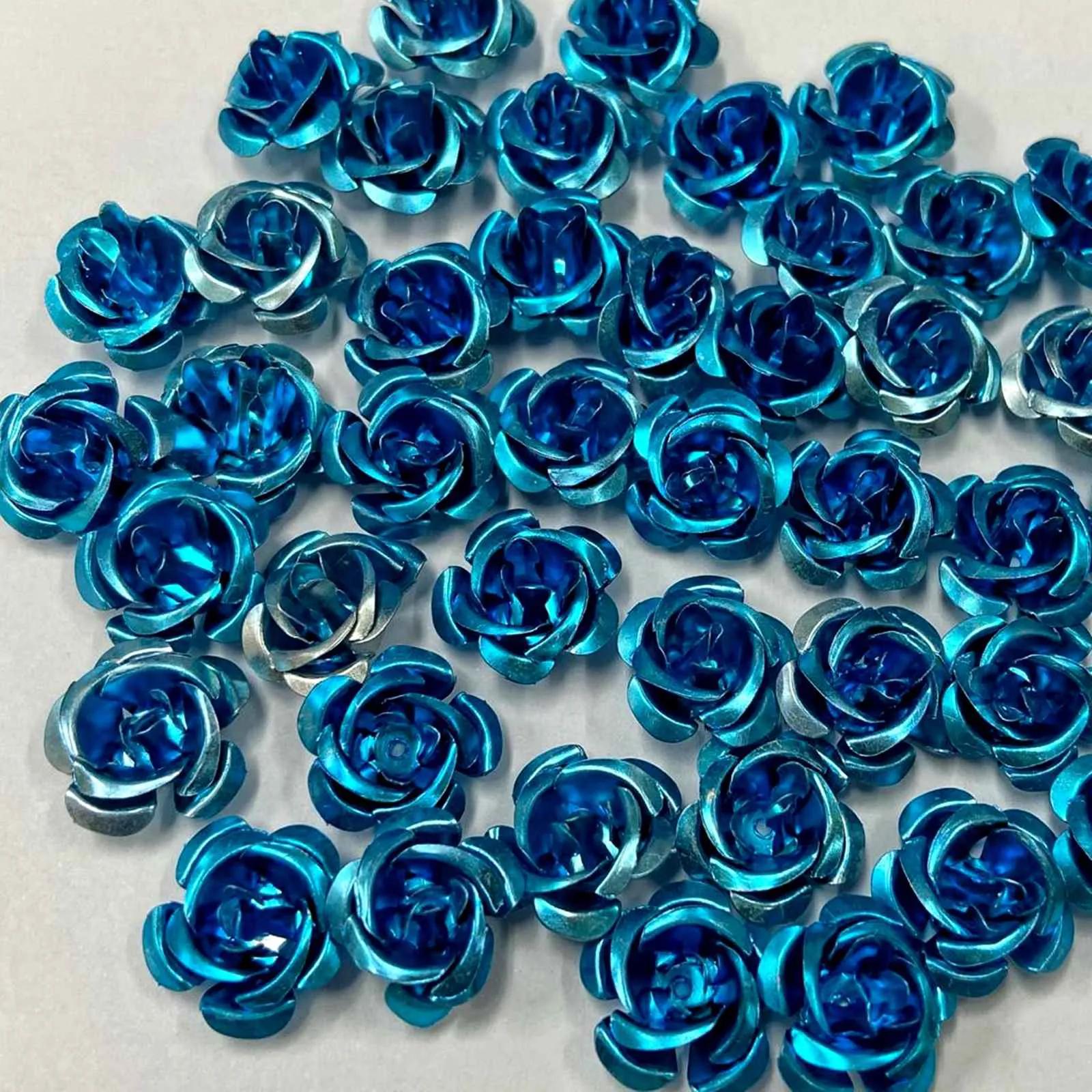 Florzinha de Metal c/ 100un